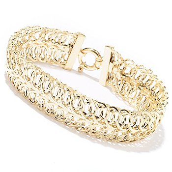 129-655 - Italian Designs with Stefano 14K Gold ''Splendore'' Bracelet