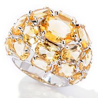 SS MULTI OVAL CTRINE DOME RING