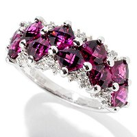 SS FANCY CUT CUSHION BRAZILIAN GARNET BAND