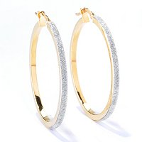 GLITTER PAVE EARRINGS