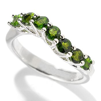 130-226 - NYC II 3mm Exotic Gemstone Wave Band Ring