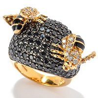 NEDA SS/18KYGP BLACK BUMBLE BEE RING