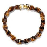 MEN'S - SS/PALL BRAC INTERLOCK TIGER EYE
