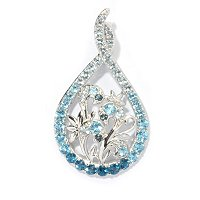 SS BLUE TOPAZ FLOWER ENHANCER
