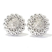 SS DIAMOND STUD EARRINGS