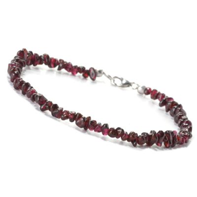 133-149 - NYC II Exotic Gemstone Chip Bead Anklet