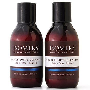 300-031 - ISOMERS® Double Duty Cleanser Duo 4 fl oz each
