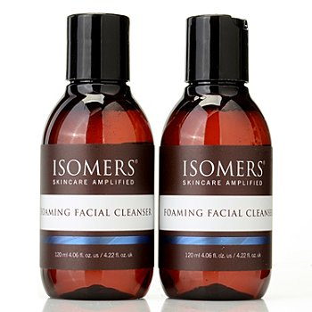 300-079 - ISOMERS Foaming Facial Cleanser Duo 4.06 fl oz each