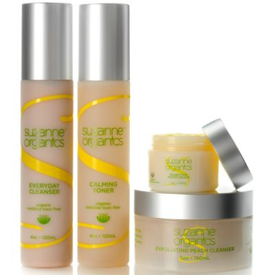300-476 - Suzanne Somers Organics Four-Piece Skincare Collection
