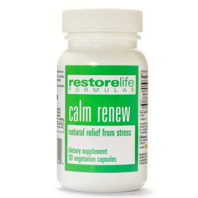 300-491 - Suzanne Somers Restorelife Calm Renew Supplements 30-Day Supply