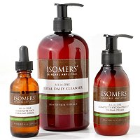 ISOMERS ALL-IN-ONE TOTAL SKINCARE 3 PIECE SYSTEM