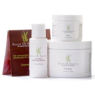 300-702 - Sugar Me Smooth Natural Hair Removal Set