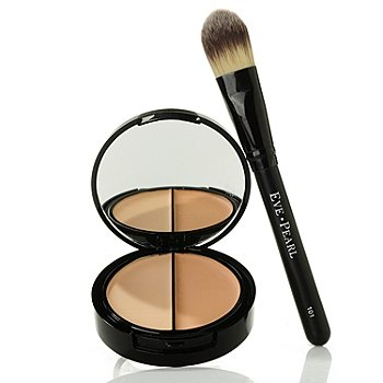 301-151 - EVE PEARL Cosmetics HD Dual Foundation & Brush .41 oz