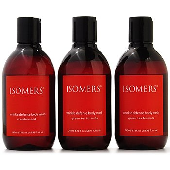 301-275 - ISOMERS Wrinkle Defense Body Wash Trio