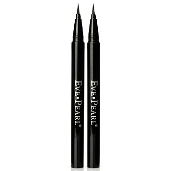 301-290 - EVE PEARL Cosmetics Smudgeproof Liquid Eyeliner Duo .019 oz Each