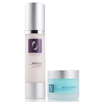 301-309 - Osmotics Cosmeceuticals Blue Copper & Renovage Serum Set