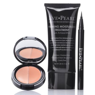301-335 - EVE PEARL Cosmetics Three- Piece Red Carpet Essentials Collection