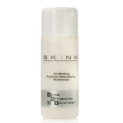 302-692 - Skinn Cosmetics SOS Oil Blotting Probiotic Resurfacing Moisturizer 2 oz