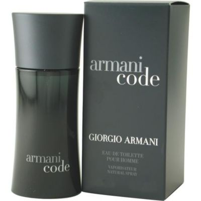 303-087 - Giorgio Armani Men's Eau de Toilette Spray Armani Code - 2.5 oz