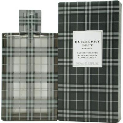 303-110 - Burberry Men's Burberry Brit Eau de Toilette Spray - 3.4 oz