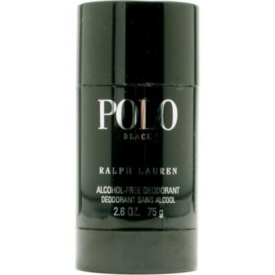 303-277 - Ralph Lauren Men's Polo Black Deodorant Stick – 2.6 oz