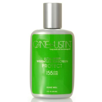303-892 - Cane + Austin Ultra Sheer Weightless Sunscreen SPF 55 2 oz