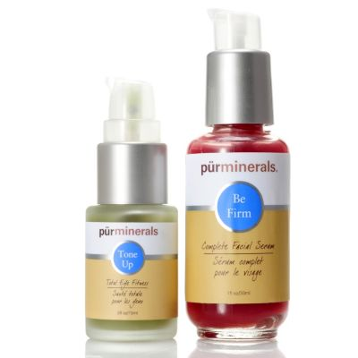 304-022 - Pür Minerals Two-Piece Be Firm & Tone Up Skincare Set