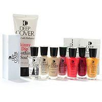 Deep Cover 12-Piece Gorgeous Nails Collection