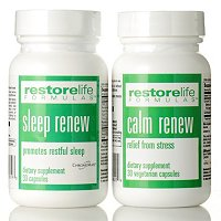 Suzanne Somers Calm Renew/Sleep Renew Set