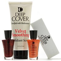 Deep Cover 4-Piece Nail Lacquer and Foot Scrub Collection