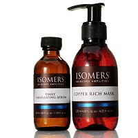 Isomers Daily Exfoliating Serum & Copper Mask Duo