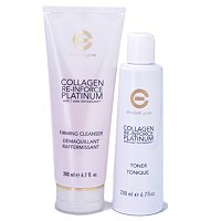 2pc Collagen Re-Inforce Platinum Cleansing System