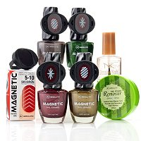 ABSOLUTE! Magnetic Nail Enamel Holiday Sampler