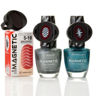 304-690 - ABSOLUTE! Steel the Night Magnetic Nails Duo