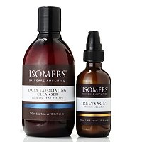 Isomers Wrinkle Liberator 1.86oz with Daily Exfoliating Cleanser 8oz