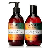 Isomers Glorious Body Wash and Body Cream Gift Set