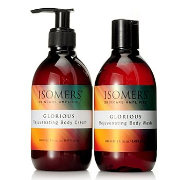 304-720 - ISOMERS® Glorious Body Wash & Body Cream Duo 8.12 oz each