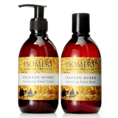 304-721 - ISOMERS® Franken-Myrrh Hand Wash & Hand Cream Duo 8.12oz each
