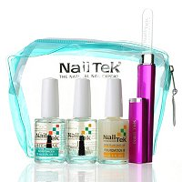 Nail Tek 4-Piece Nail Care and Treatment Collection