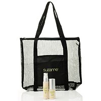 Bightening and Agelss Serum Combo with Logo Tote