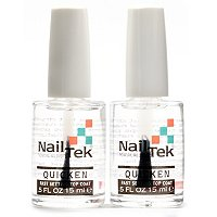 Nail Tek Quicken Fast Drying Top Coat Duo