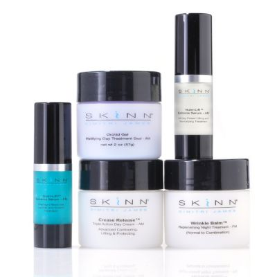 "304-904 - Skinn Cosmetics Five-Piece ""Early Signs Treat & Lift"" Anti-Aging Set"