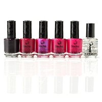 Seche 5-Piece Beautiful Berries with Fast Dry Top Coat