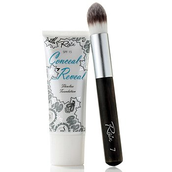 304-916 - Rain Cosmetics Conceal & Reveal Flawless Foundation w/ Brush 1.2 oz