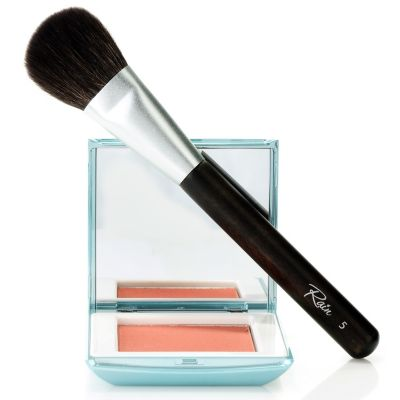 "304-918 - Rain Cosmetics Glowing Blush w/ ""You Make Me Blush"" Brush"