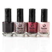 Seche Fast Dry One Coat Holiday Sampler w/Limited Edition Collage Top Coat