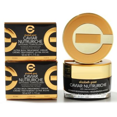 304-940 - Elizabeth Grant Caviar Nutruriche Ultra Rich Treatment Cream Duo 1.7 oz Each
