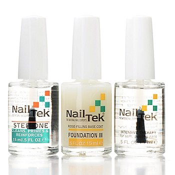 305-101 - Nail Tek Three-Step Nail Therapy Kit w/ Bag