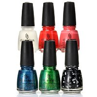 China Glaze 5-pc Cirque du Soleil World's Away Collection + Top Coat