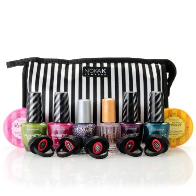 "305-157 - ABSOLUTE! Nine-Piece ""Shades of Spring"" Magnetic Nail Enamel Collection"